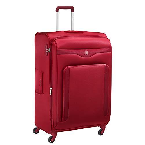 DELSEY Paris Baikal Maleta, 78 cm, 117 Liters, Rojo (Rouge)