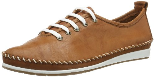 Andrea Conti Damen 0027400 Sneakers Braun (cognac 062) 39 EU