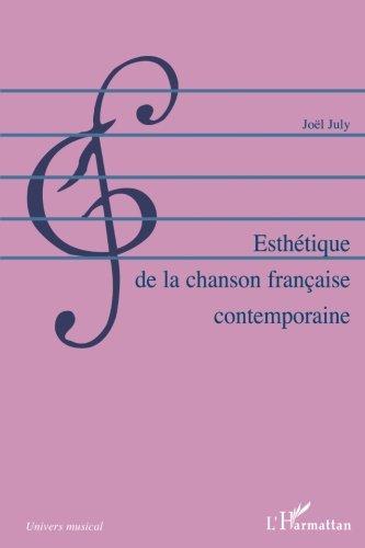 Esthétique de la chanson française contemporaine