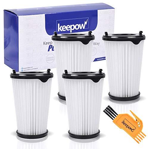 KEEPOW 4 Stück Filter für AEG CX7 CX7-2 Ergorapido Staubsauger für alle Modelle, Artikelnummer AEF150