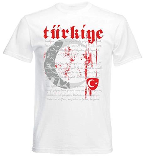Türkei Türkiye Kinder BABY Größe 56-86 EM T-Shirt Trikot Druck NAME NR rot