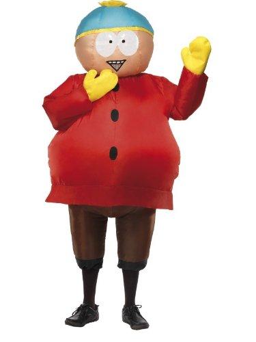 Aufblasbares Kostüm Cartman South Park (Kostüm Cartman South Park)
