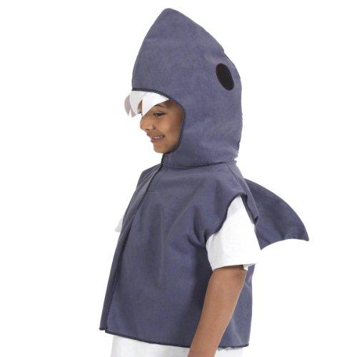 Charlie Crow Squalo costume per i bambini. Taglia unica 3-9 anni.