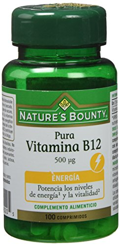 Nature's Bounty Vitamina B12 500 Μg - 100 Comprimidos