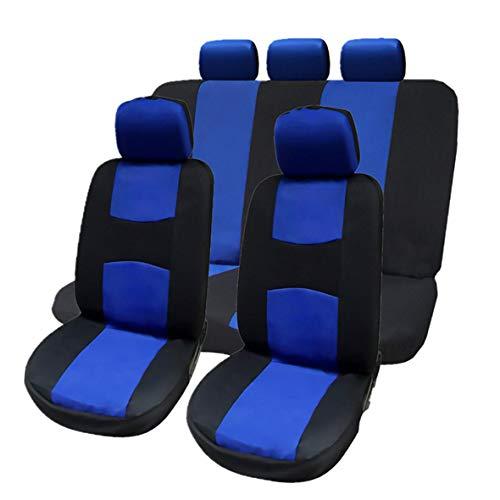 Heaviesk Anteriore Posteriore Coprisedili per Auto Universale Coprisedili Auto Traspiranti Accessori per Veicoli