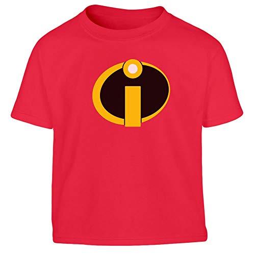 Unglaubliches Superhelden Karneval Kostüm Kleinkind Kinder Jungen T-Shirt 130/140 (8-10J) - Herr Unglaubliche Kleinkind Kostüm