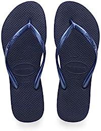 Havaianas Damen Slim Zehentrenner, Blau (Navy Blue), 39/40 EU (37/38 BR)