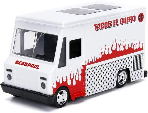 Jada Toys JA99800 Jada 1:32 Deadpool Taco Truck, Multi