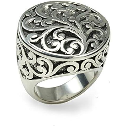 Metal de Seda Ultralite-Anello in filigrana, in argento Sterling, forniti in una scatola ideale come