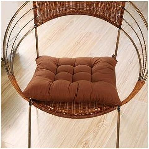 New day-Cuscini per sedie ufficio ispessita inverno sgabello cuscini per sedie da pranzo culo pad tatami , 45x45cm , g
