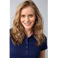 U.S. Polo Assn. Women's GTP-IY09 Regular Fit Short Sleeve T-Shirt, Navy Blue, Medium