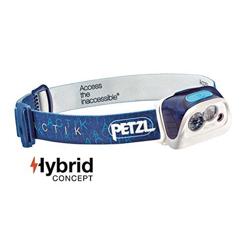 Petzl Actik Lampe Frontale Bleu
