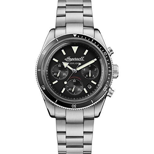 Ingersoll–Reloj de Hombre–Plata i06201