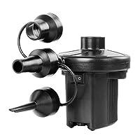 Generic Electric Air Pump DC12V-AC230V Electric Pump with 3 Attachments, Automatic Pum