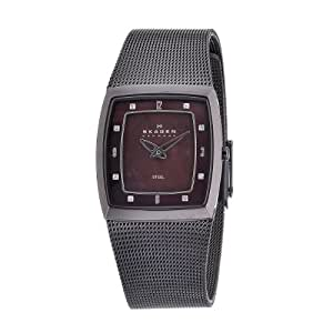 Skagen Damen-Armbanduhr Analog Quarz Edelstahl 380SMM