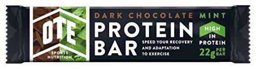 Ote Sport Dark Chocolate Mint Protein Bar 49% Protein 20Bars -