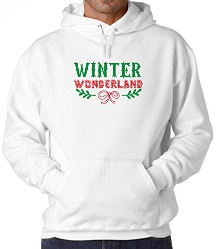 derland White Unisex Hoodie - Large ()