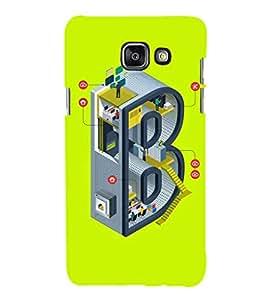 EPICCASE Complex B Mobile Back Case Cover For Samsung Galaxy A3 (2016) (Designer Case)