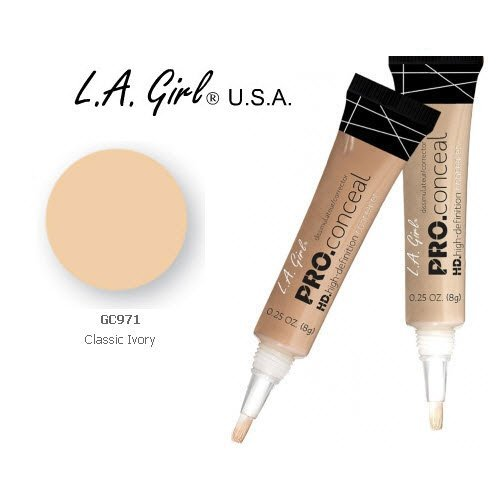 L.A. Girl Pro Conceal HD 971Classic Ivory 2Pack