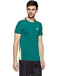 Symbol Amazon Brand Men's Round Neck Sports Half Sleeve T-Shirt