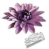 flores grandes 4# Troqueles de estampado en relieve Punch Plantilla de plantilla para Scrapbooking Álbum de bricolaje Foto Tarjetas de papel Art Craft Supplies Decoración para el hogar