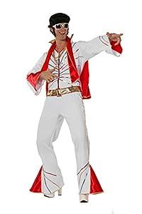Stekarneval - Disfraz de Elvis para hombre, talla 54 (533754)
