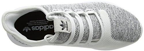 adidas Tubular Shadow Knit, Chaussures de Running Homme Blanc (Ftwr White/ftwr White/core Black)