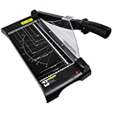 Guillotine Massicot en Métal Main Rogneuse Photo A4 Laser Résistant à l'usure Machine Couper Papiers pour Bureau Domicile...