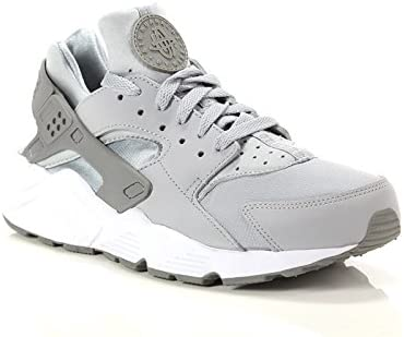 Nike - Nike Air Huarache Run Classic Wolf Grey 318429 033 - 318429 033 - EU 42 - US 8.5 - UK 7.5 - CM 26.5