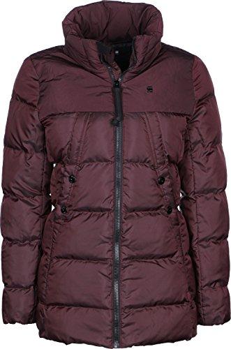 G-Star Damen Mantel Whistler Slim Coat, Größe:M;Farbe:Port Red (4608)