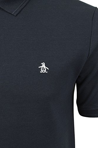 Original Penguin Herren Poloshirt Winston Dark Sapphire