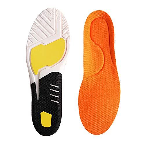 Plantar Fasciitis Einlagen, Orthopädische Schuhe Einlegesohlen für Männer und Frauen, Athletic...