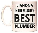 LIAHONA IS THE WORLD'S BEST PLUMBER Tasse de WeDoMugs