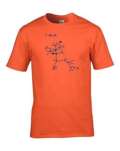FatCuckoo Herren T-Shirt Orange