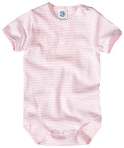 Sanetta Body 1/2 A.m.Motiv FR-Ri 320449 Baby - Mädchen Babybekleidung/ Unterwäsche/ Bodys, Gr. 62, Rosa (3508 )