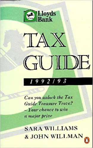 The Lloyds Bank Tax Guide 1992-93