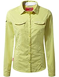 Craghoppers NosiLife Womens/Ladies Adventure Long Sleeved Insect Repellent Shirt