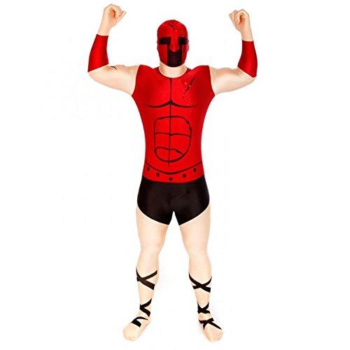 Spartanmorphsuit Spartanerkostüm, Größe:XL