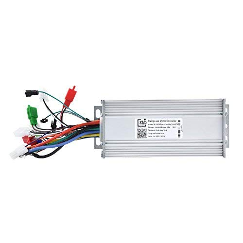 Alomejor 36V/48V 1000W Motor Controller Elektro-Fahrrad Hub Motor Hall Sensor Controller für E-Bike & Roller