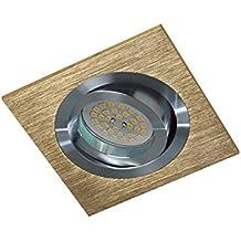 Wonderlamp W-E000007 Classic Classic - Foco empotrable cuadrado, color cobre