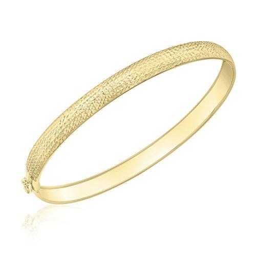 Carissima Gold Damen Amreif 9k (375) Gold Diamant-geschnitten Flexibel