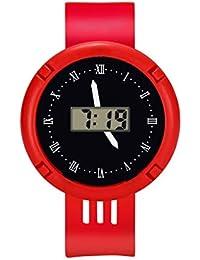 Loolik Niños Relojes,Moda Reloj Deportivo Digital Analógico Infantil LED a Prueba de ...