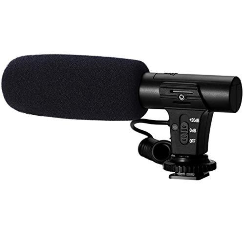 Kamera Mikrofon, Colorful Video Mikrofon Camcorder VideoMicro mit 3,5 mm-Schnittstelle, Interview Aufnahme für Canon Nikon Sony DSLR Kamera DV Camcorder