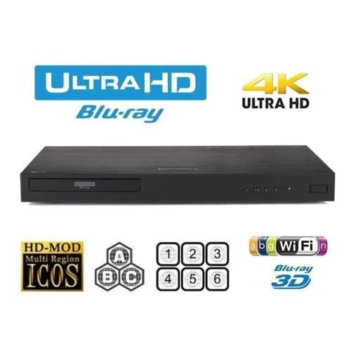 41XYgXlAMML. SS500  - LG UBK90 4K UHD Blu-ray and DVD Player
