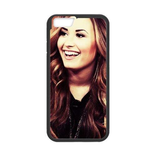 Demi Lovato coque iPhone 6 Plus 5.5 Inch Housse téléphone Noir de couverture de cas coque EBDXJKNBO10697