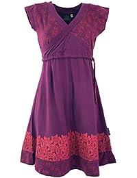 e5ba14c15bfc Guru-Shop Minikleid, Boho Kleid Rose Organic, Damen, Synthetisch, Kurze  Kleider