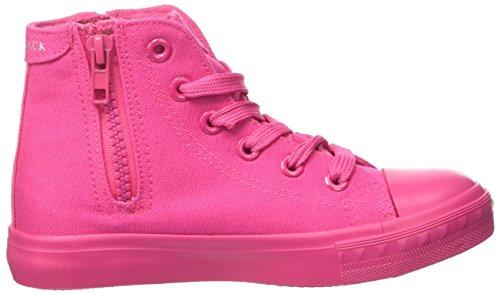 Lumberjack Mädchen Phillie Hohe Sneaker Rosa (Fuxia)