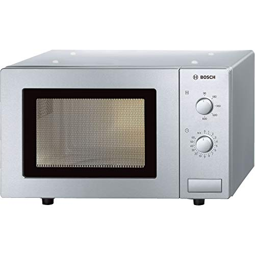 41XYkWbXhRL. SS500  - Bosch HMT72M450B Serie 2 Brushed Steel 800W Microwave with 17 Litre Capacity