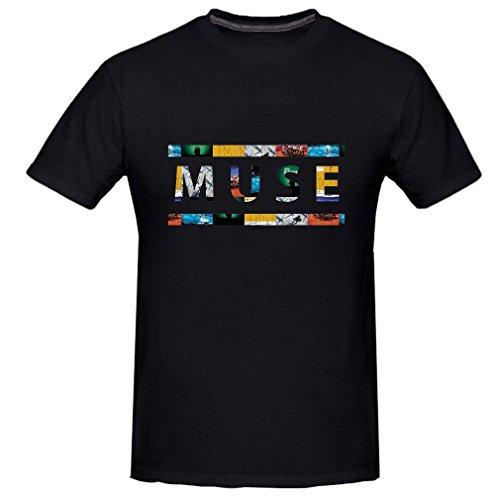 Kerner Men's Muse Rock Band T-shirt