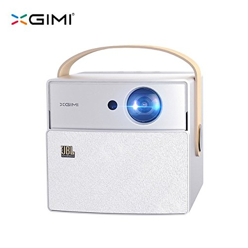 XGIMI CC Aurora Mini Portable DLP Projector Home Theater, Smart Android OS Projector With 3D Support 4K HD JBL Stereo WiFi Bluetooth (Aurora, Aurora)